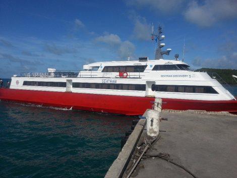 Seatran Discovery ferry to Koh Tao