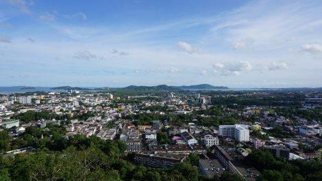 View of Phuket Town