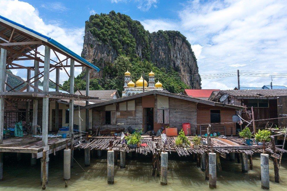 Muslim village in Phang Nga