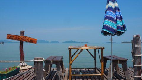 Seafront restaurant in Koh Lanta