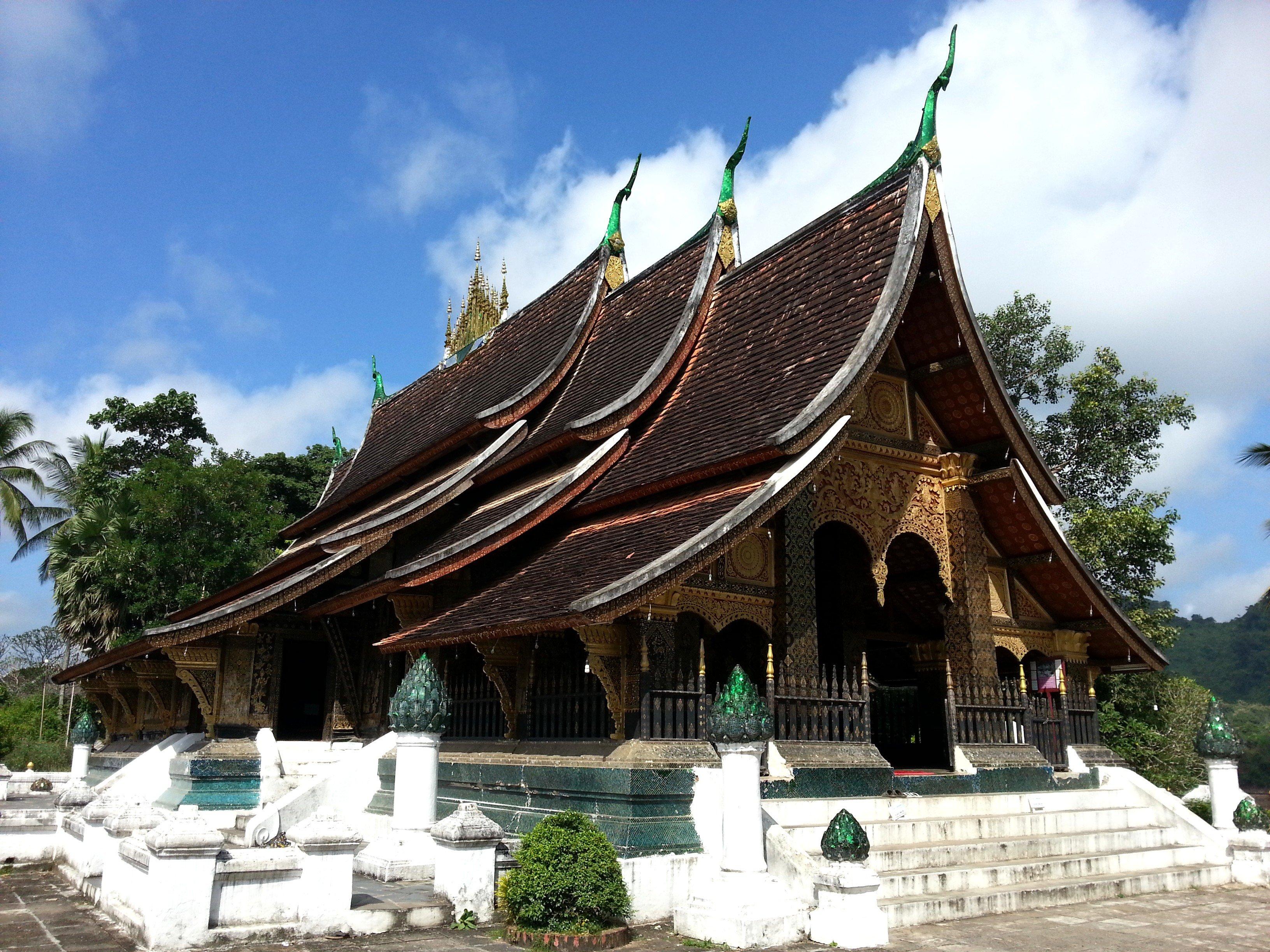 Xieng Thong Temple in Luang Prabang