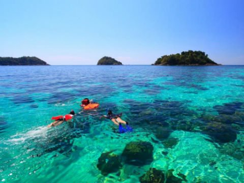 Koh Lanta is a great place for snorkelling