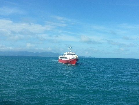 Seatran Discovery ferry on route from Koh Samui