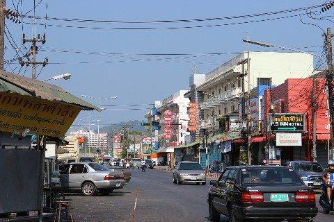 Ongsim Phai Road in Phuket Town
