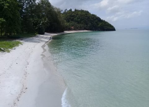 One of Thailand's many beautiful beaches