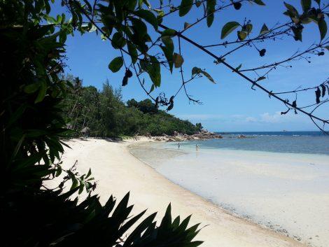 Haad Son also known as 'secret beach'