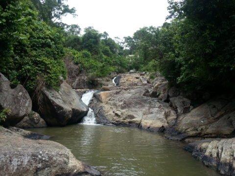 Another waterfall at Than Sadet