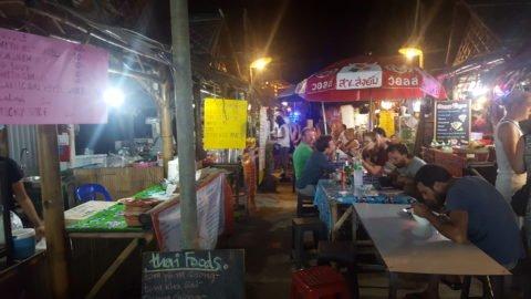 Night market in Thong Nai Pan Yai