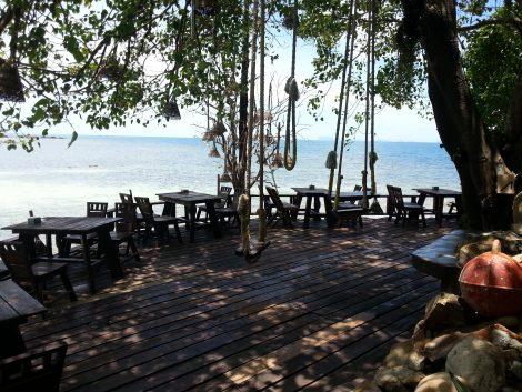 Seating at Koh Raham