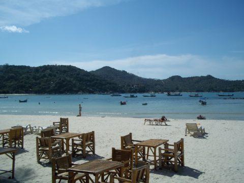 View from Thong Nai Pan Yai beach