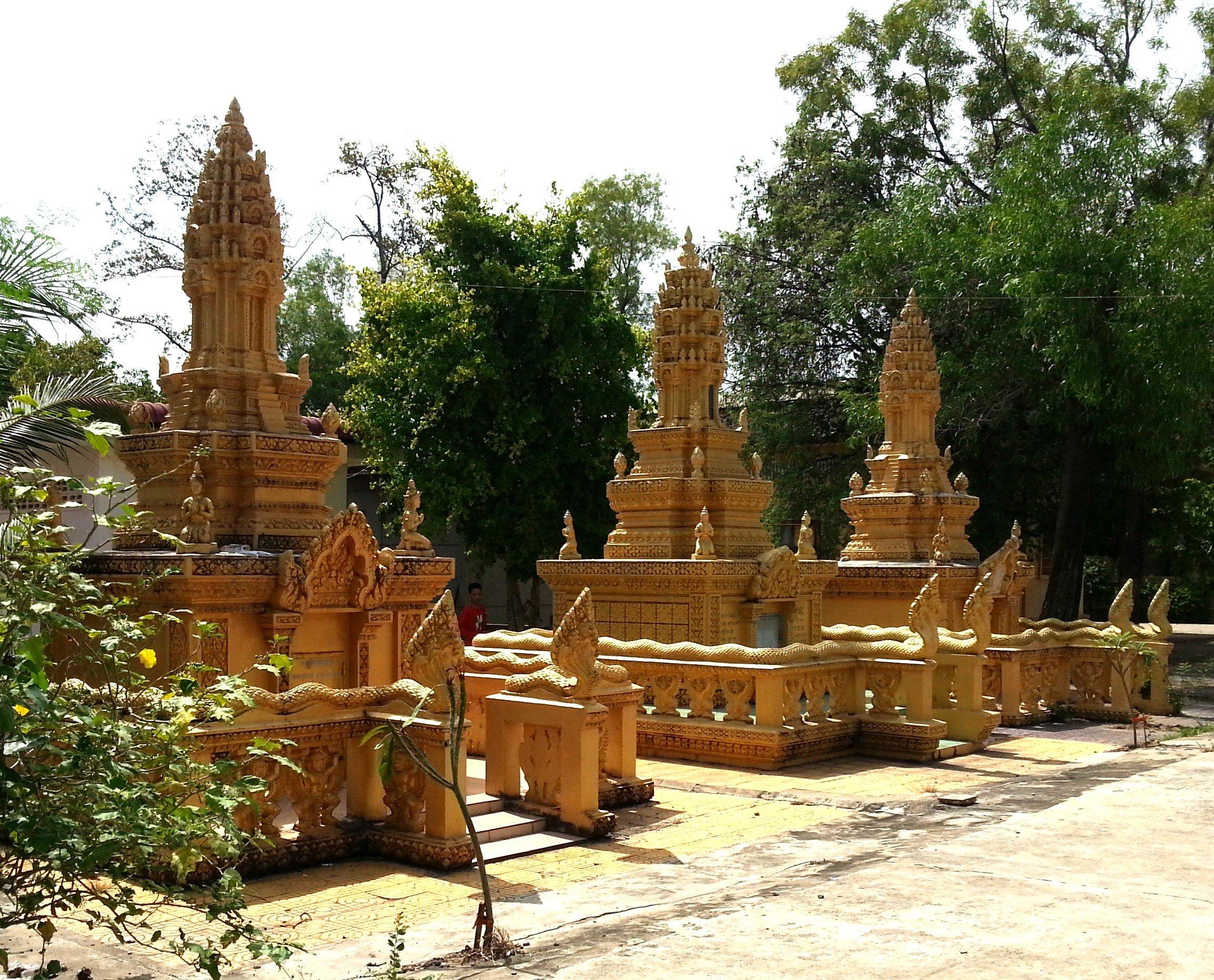 Wat Kavill in Battambang