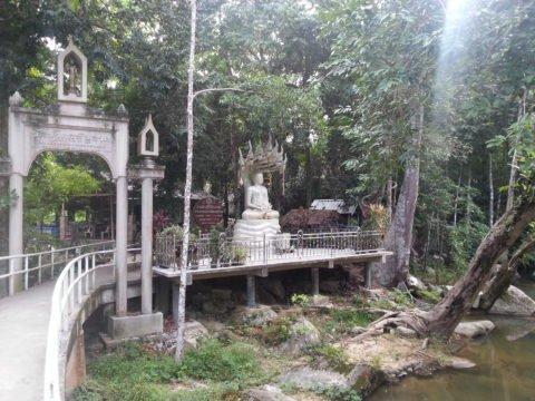 Entrance to Wat Saunthamma Pala Nikrotharam