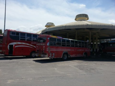 Local bus services at Nakhon Si Thammarat Bus Station