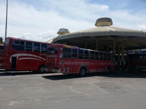 Local bus services at Nakhon Si Thammarat Bus Station