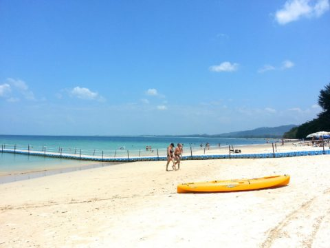 Khao Lak has 20 km of great beach