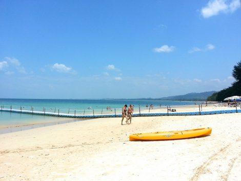 Khao Lak has 20 km of great beach