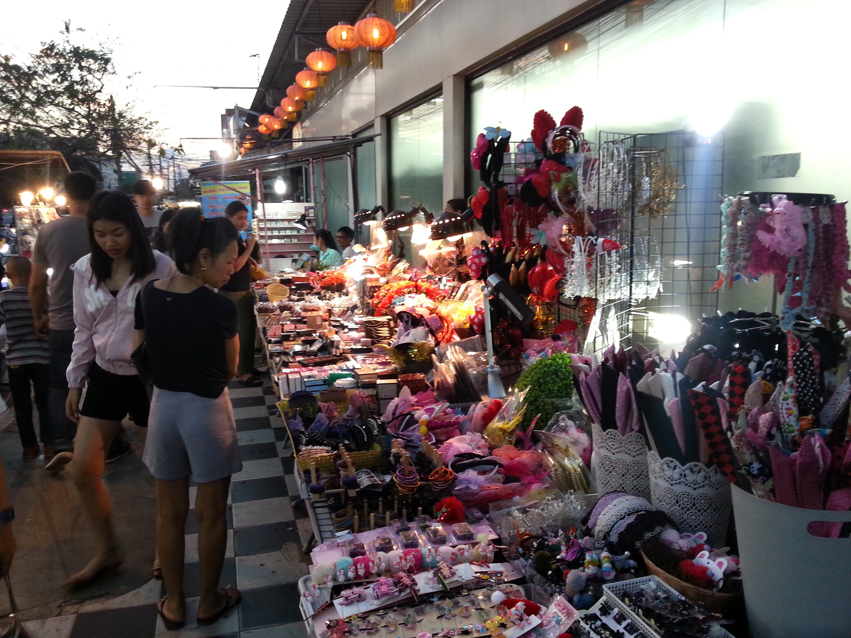 Accessories at Udon Thani Night Market