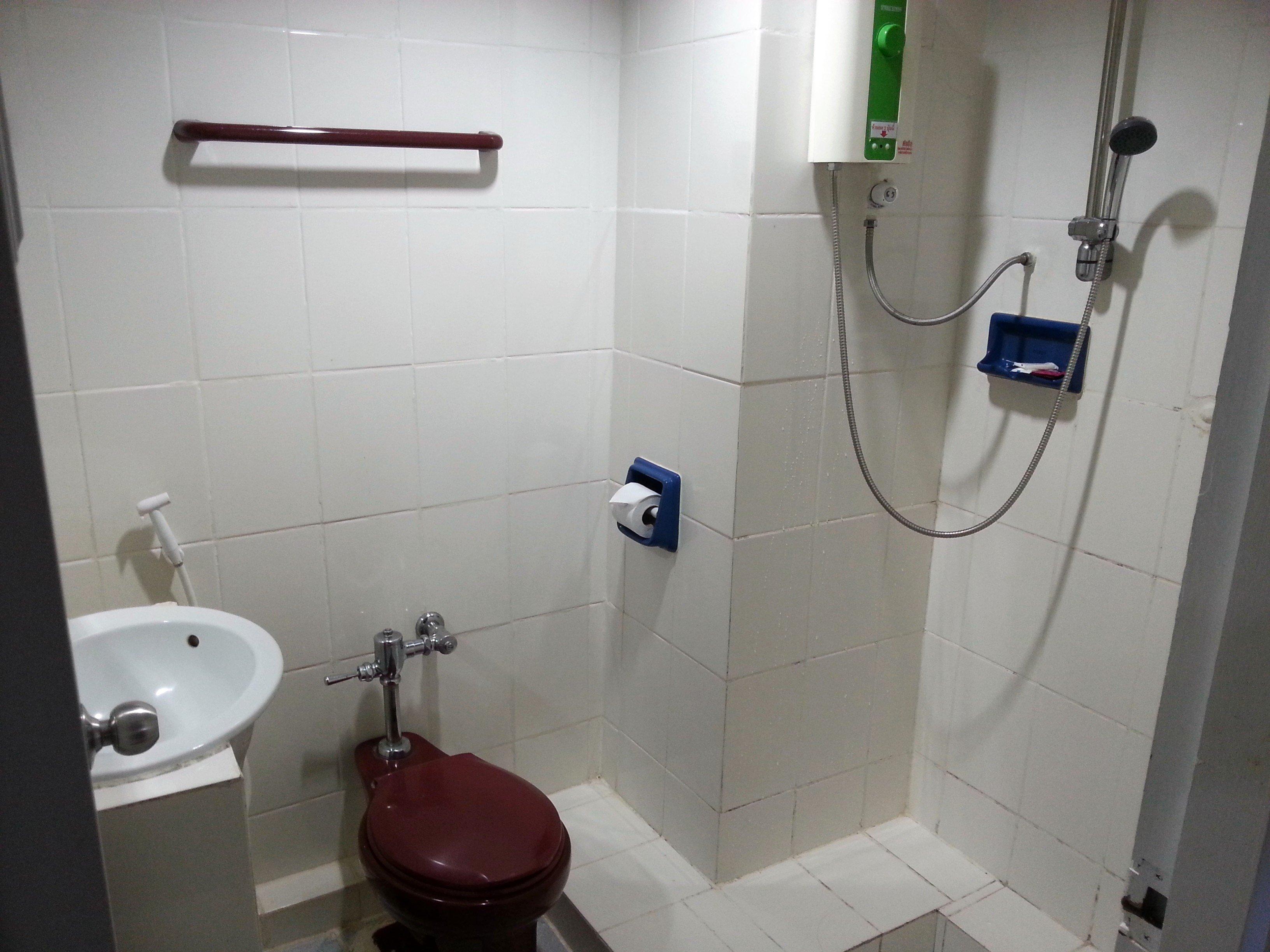 Bathroom at the Imperial Sakon Hotel