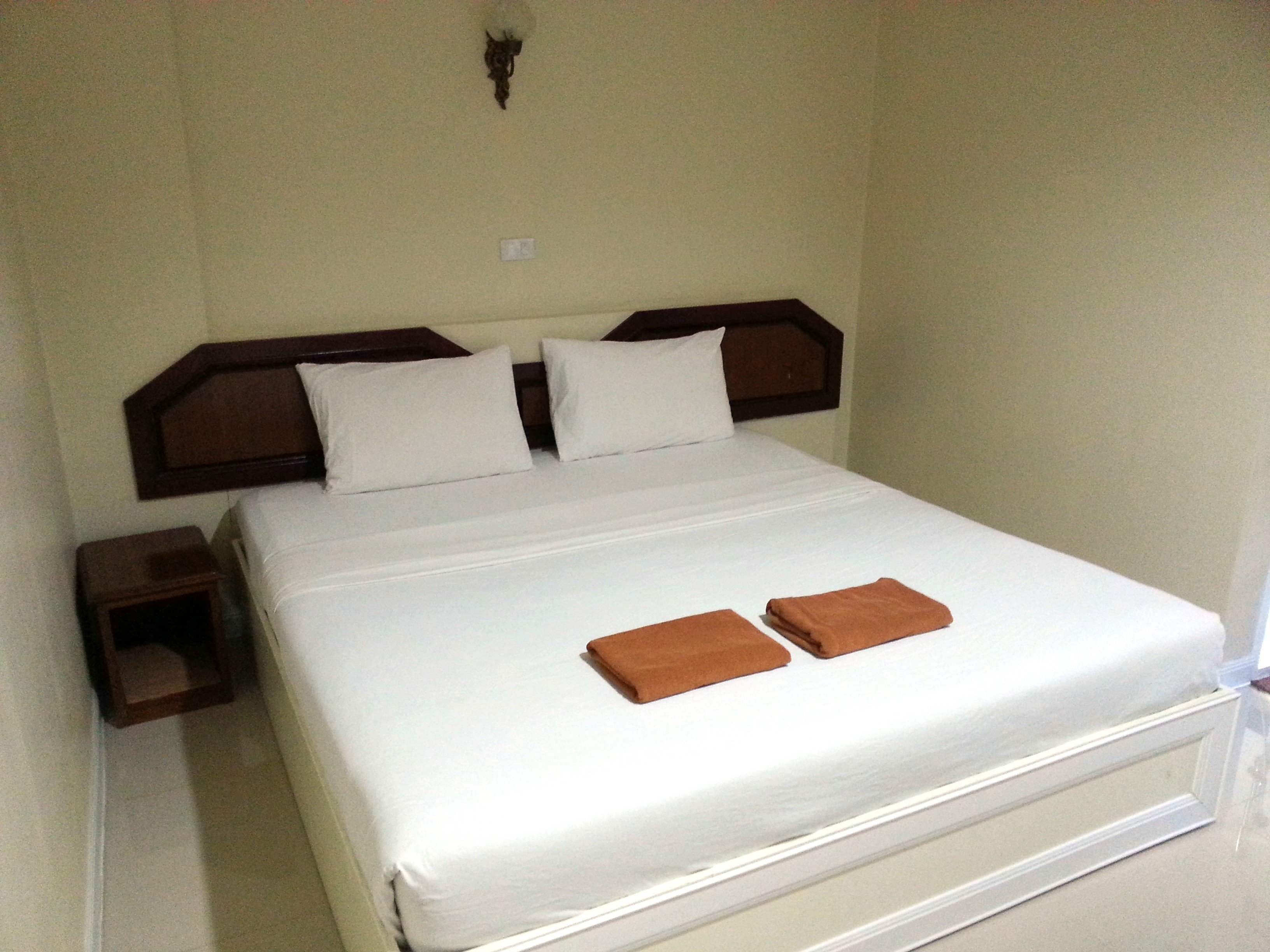 Bed at the Imperial Sakon Hotel