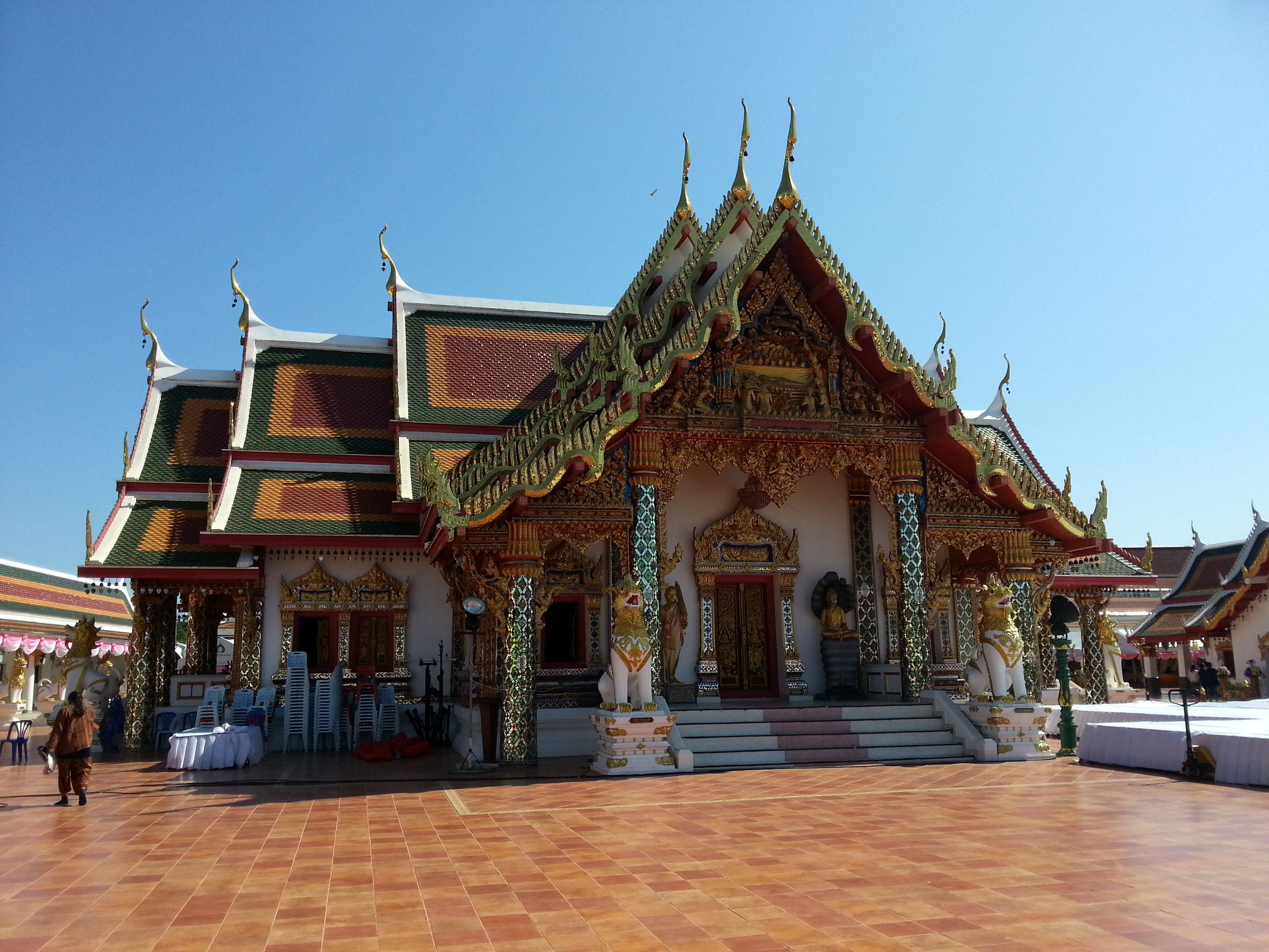 Shrine Hall at Wat Phra That Choeng Chum