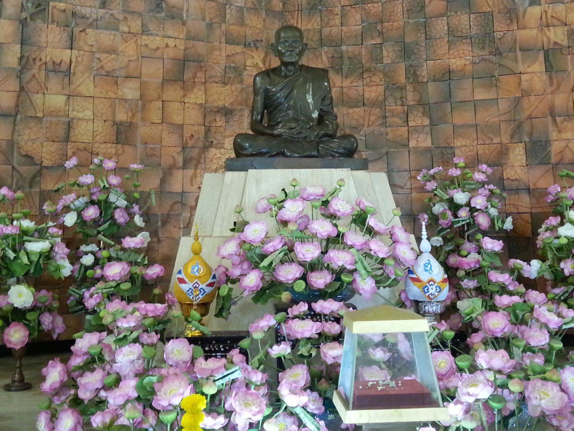Statue of Ajahn Mun