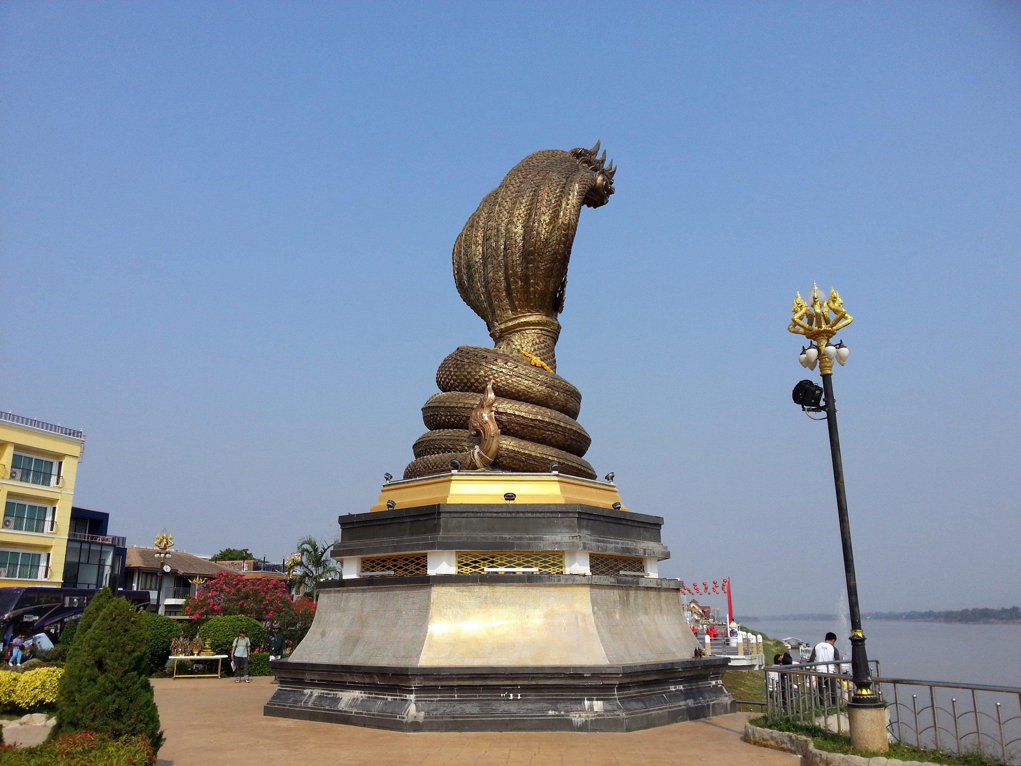 Naga Monument in Nakhon Phanom