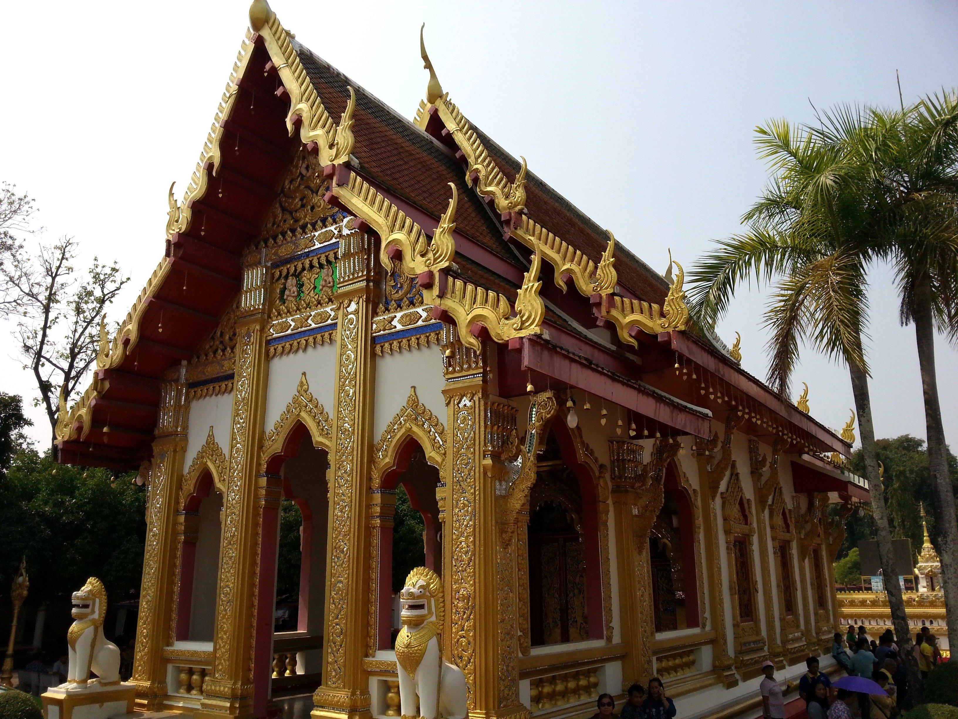 Ordination Hall at Wat Phra That Phanom