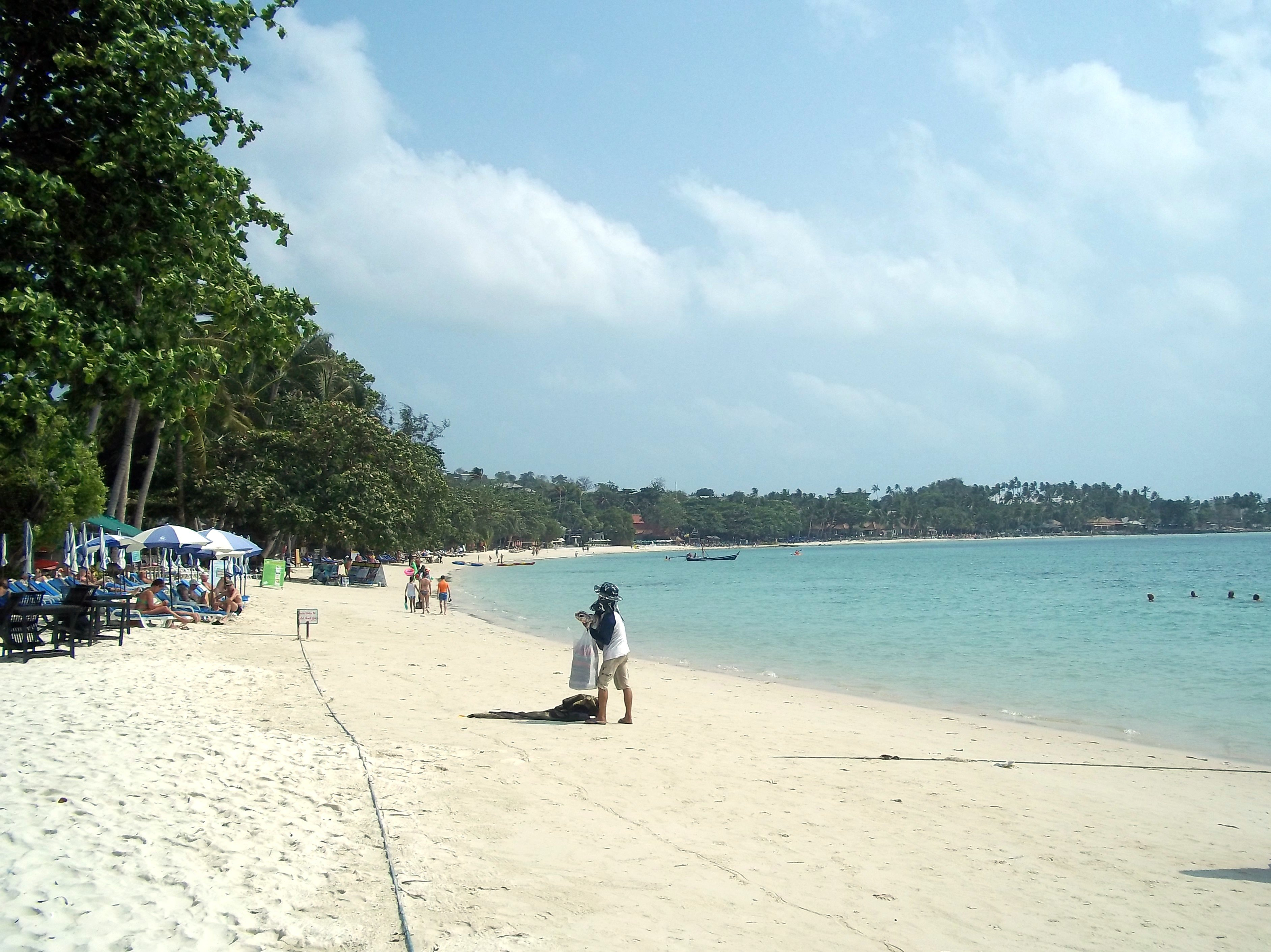 Chaweng Beach in Koh Samui