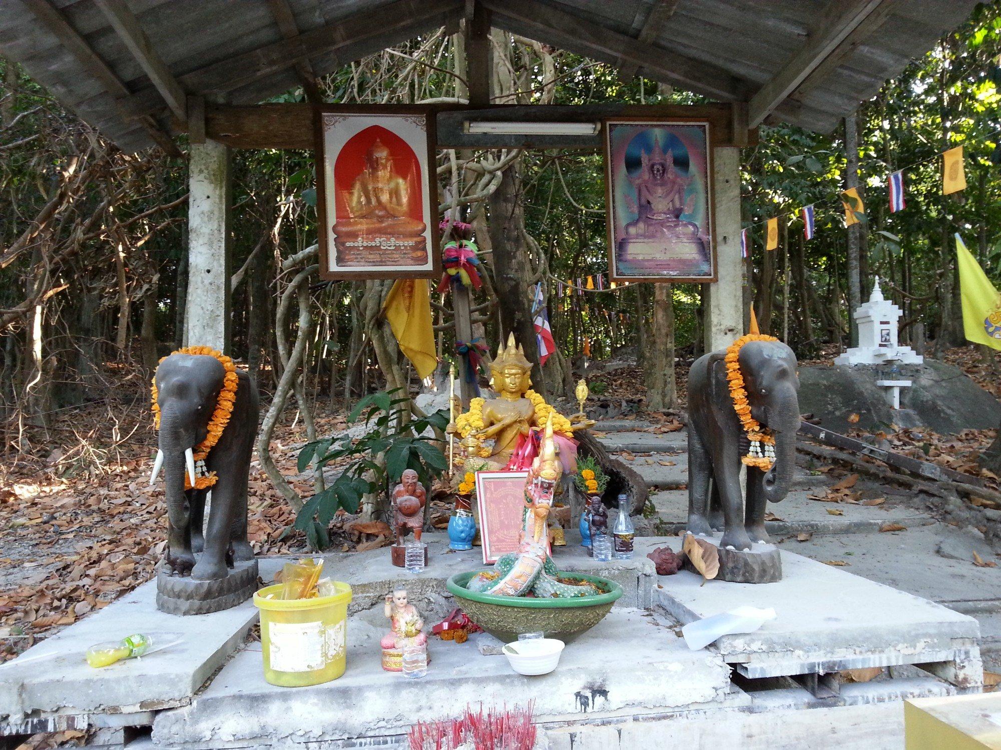 Brahma statue at Wat Hantalay