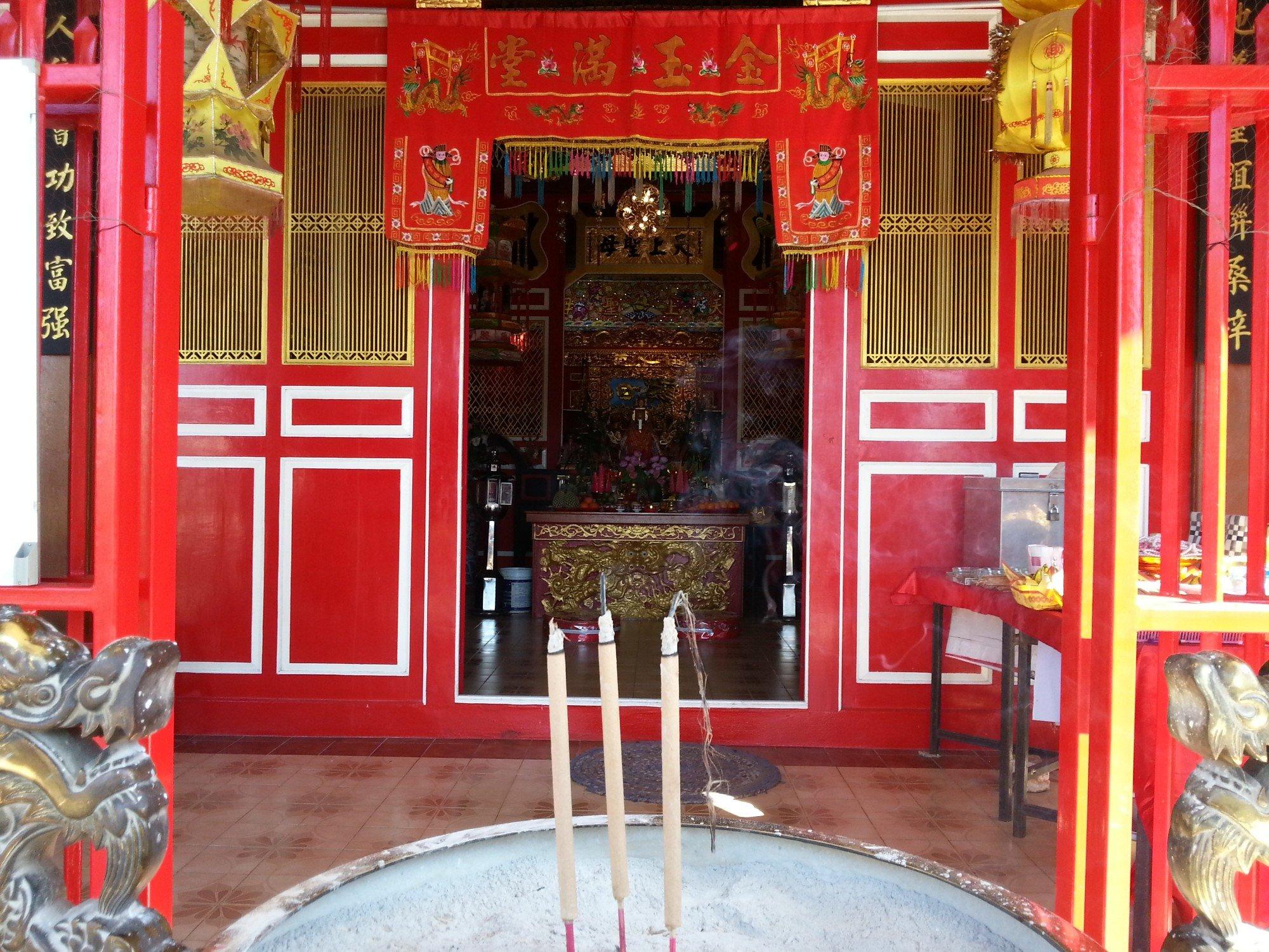Chaomae Ya Nang Shrine in Phuket Town