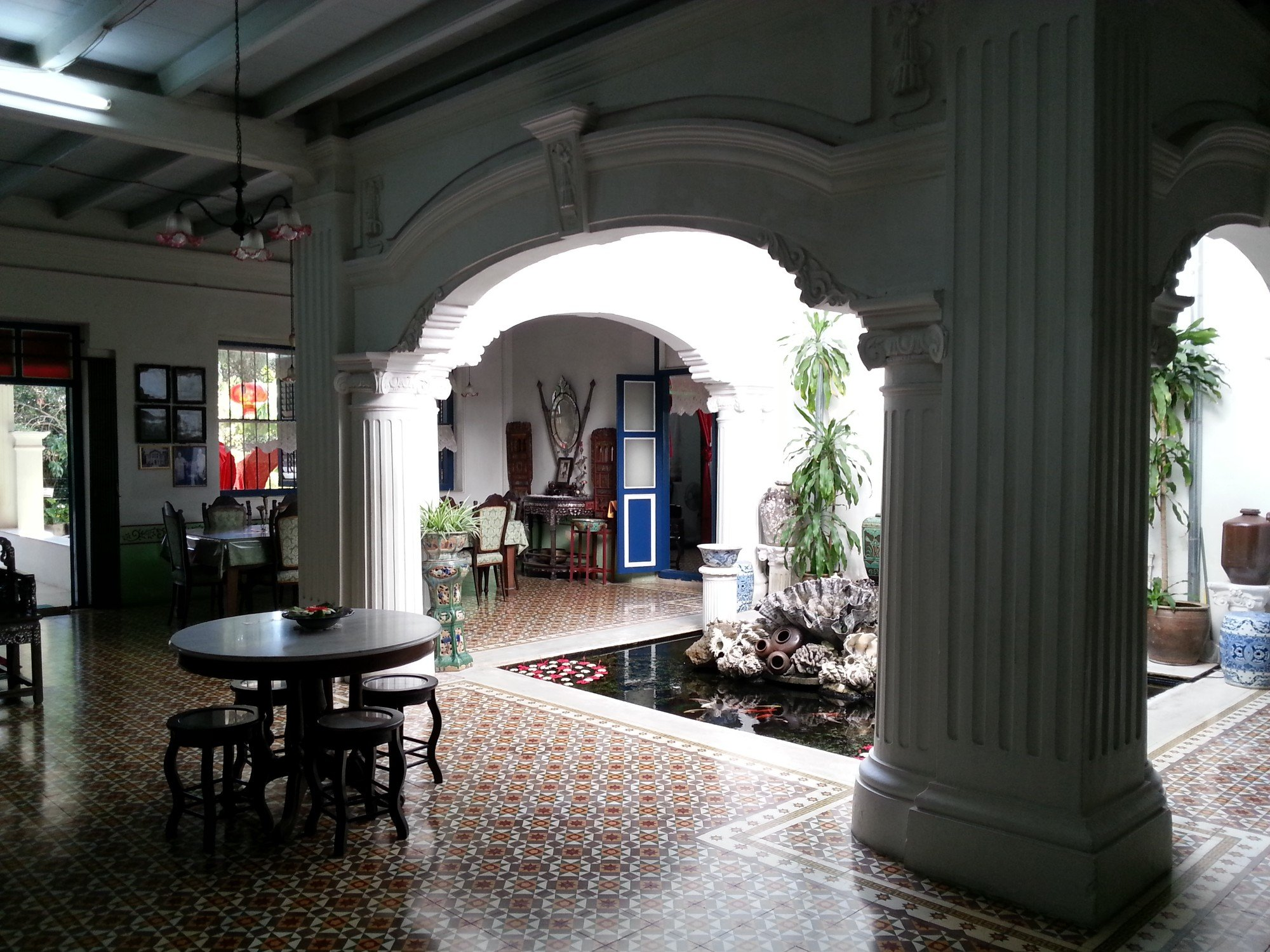 Courtyard in the Chinpracha House