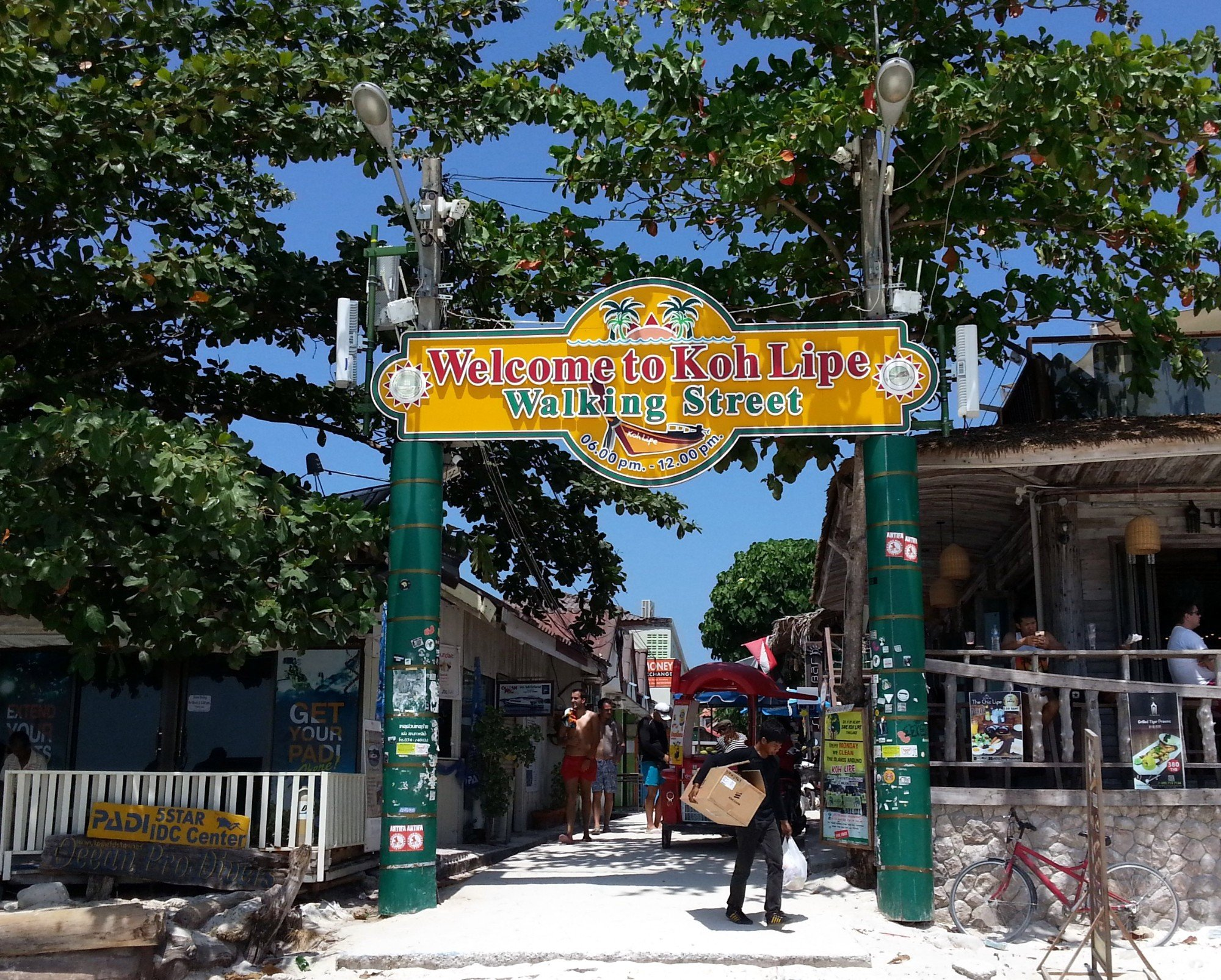 Entrance to Koh Lipe Walking Street