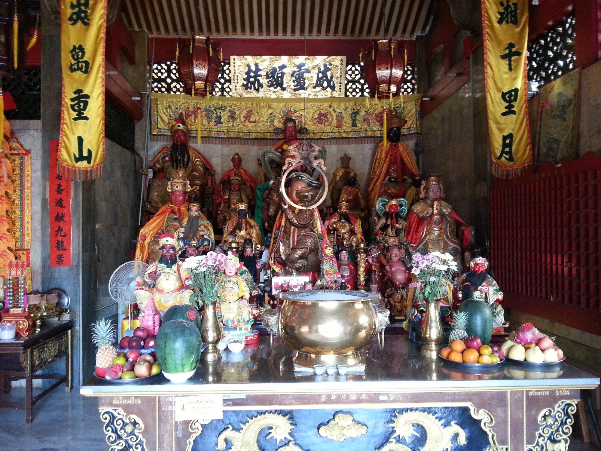 Main altar at the Jui Tui Shrine