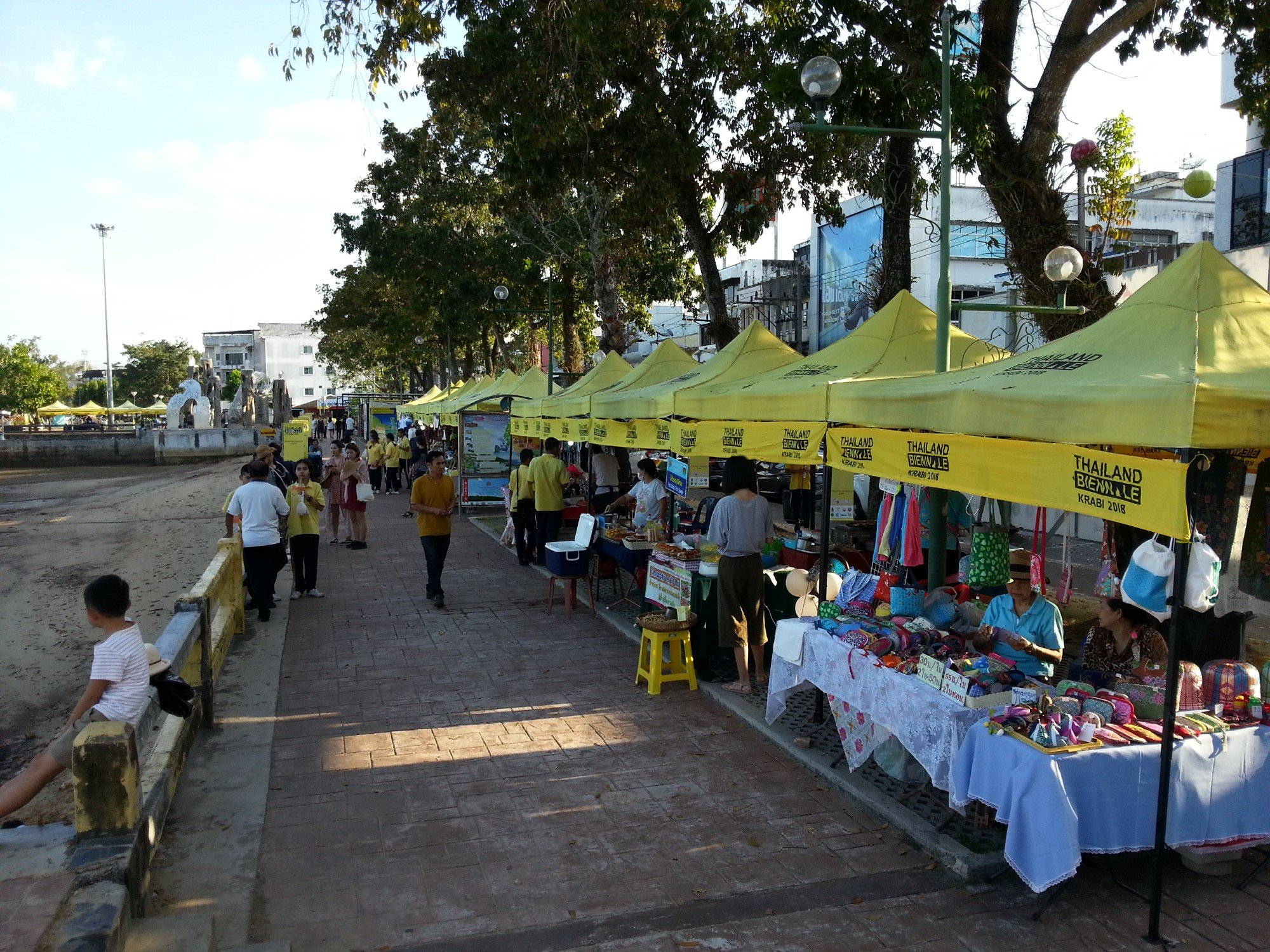 Market Stalls in Chaofa Park