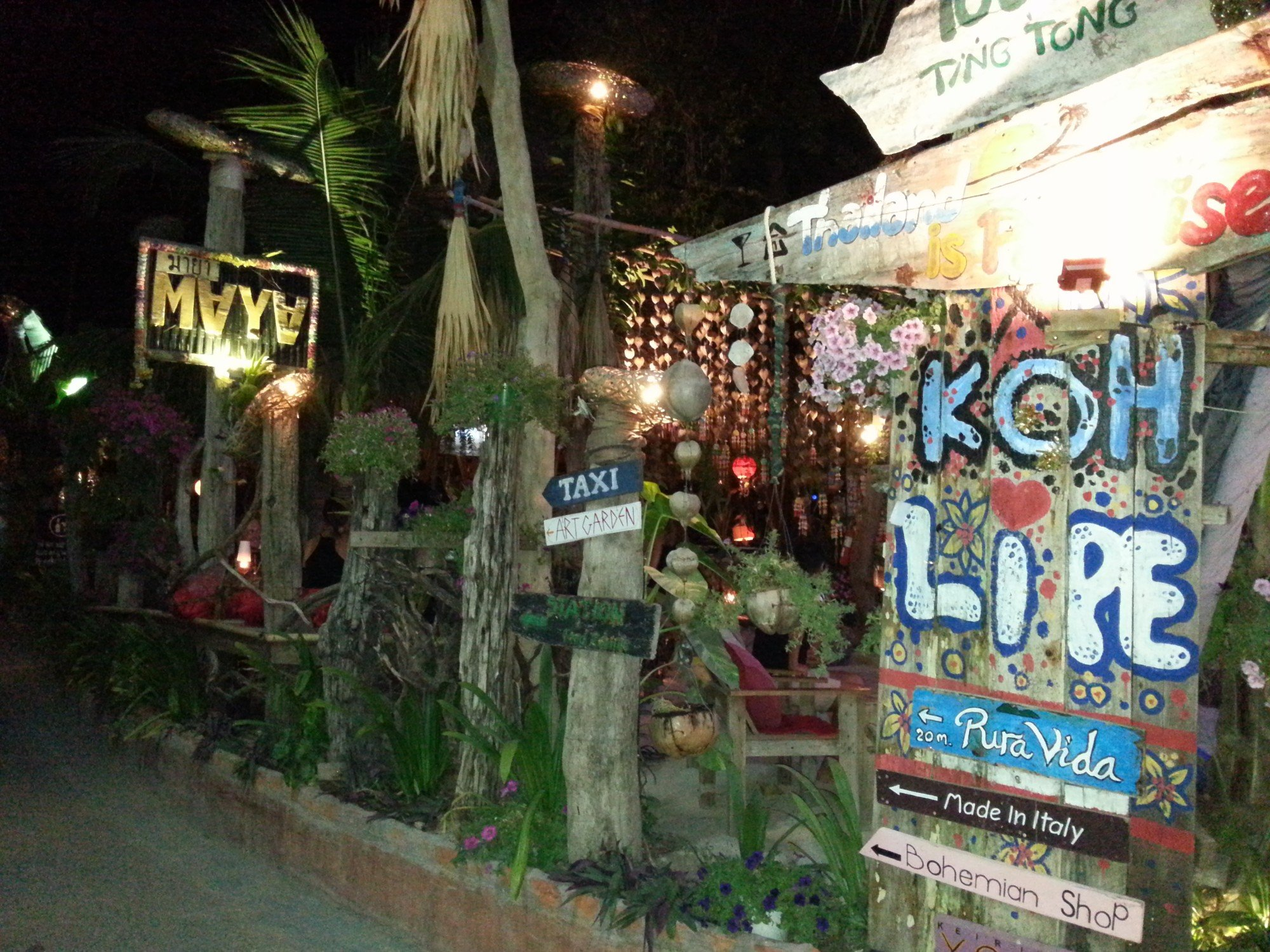 Maya Bar in Koh Lipe