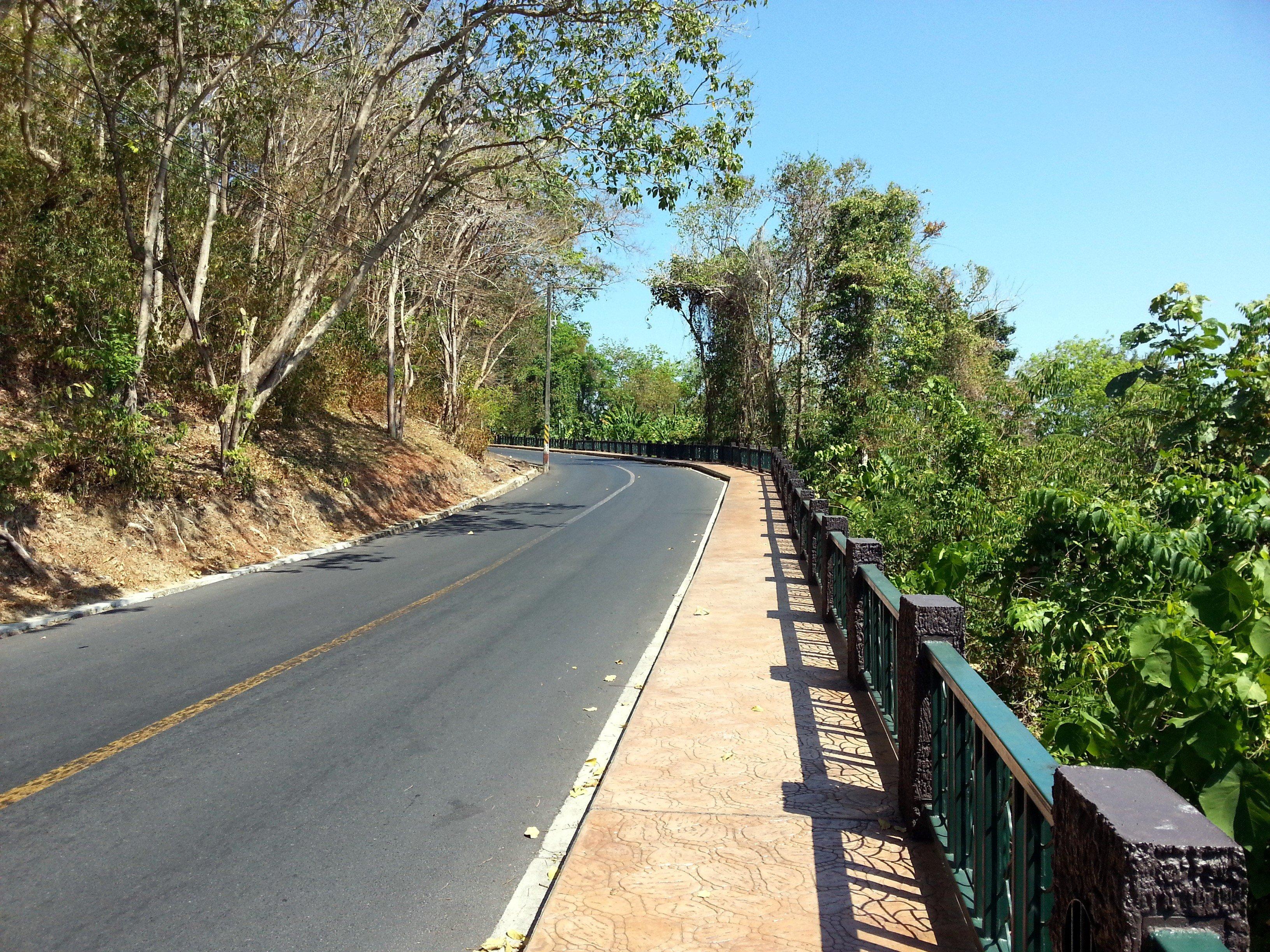 Pathway up Rang Hill