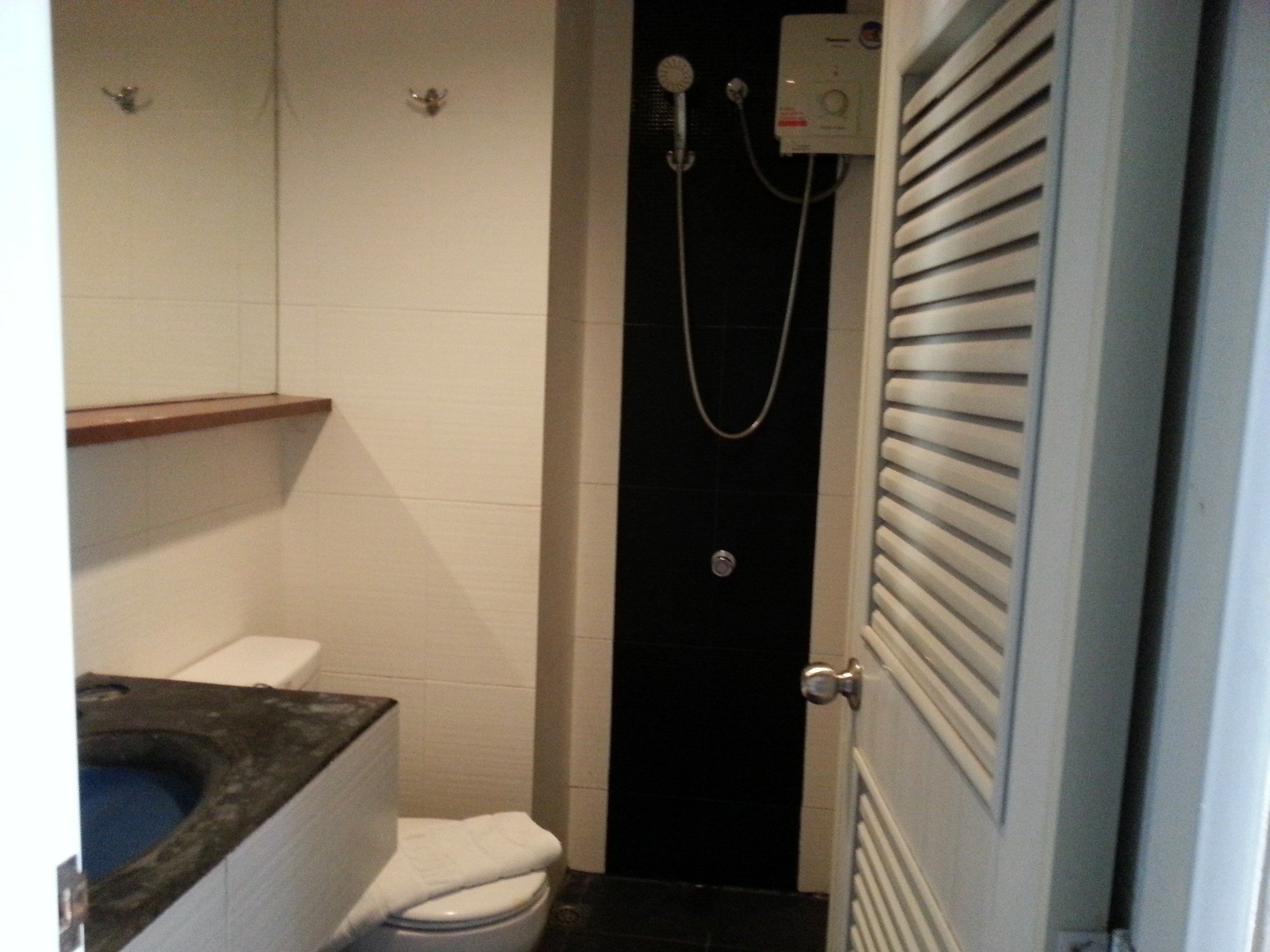 Private bathroom at Rome Place