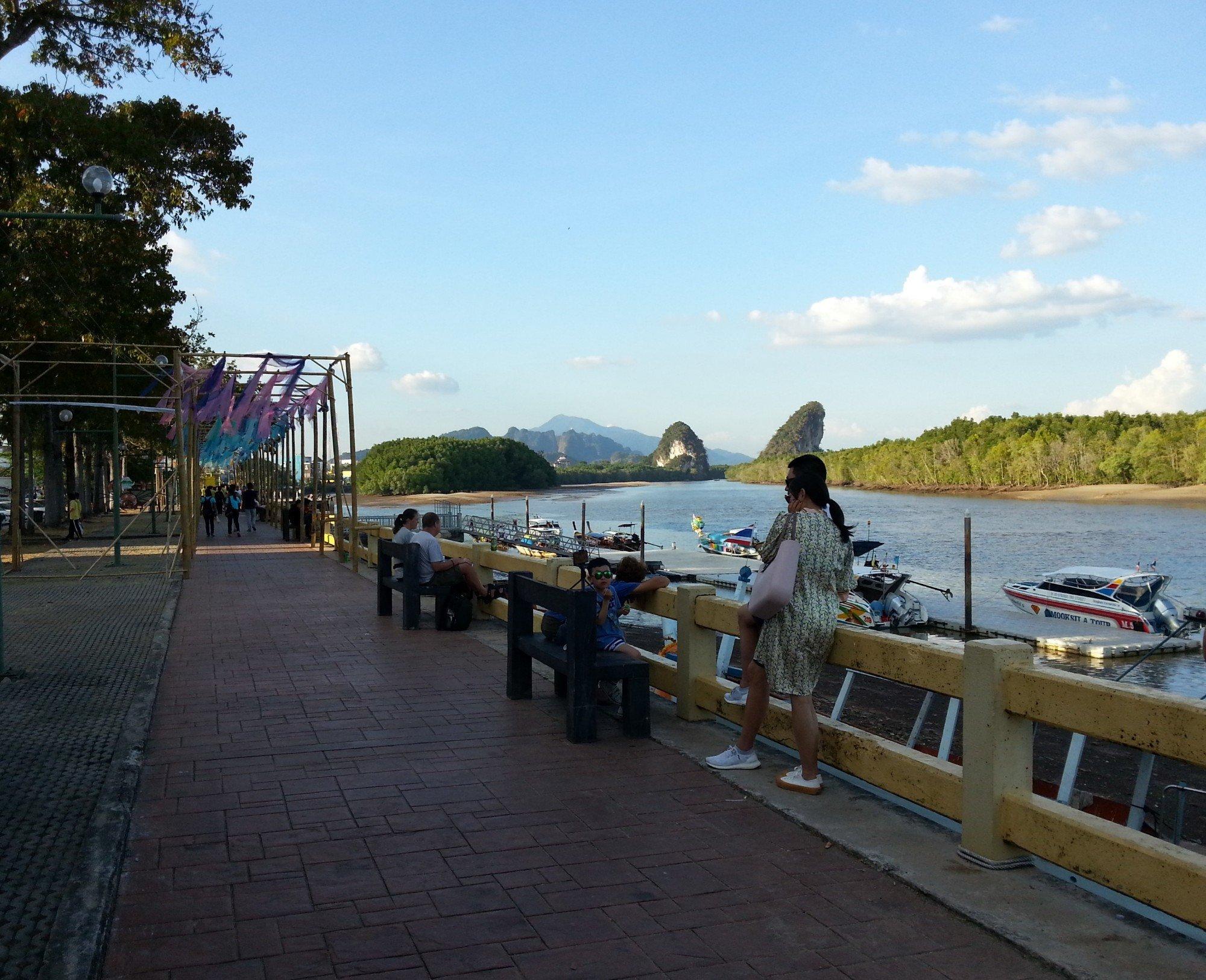 Promenade in Chaofa Park