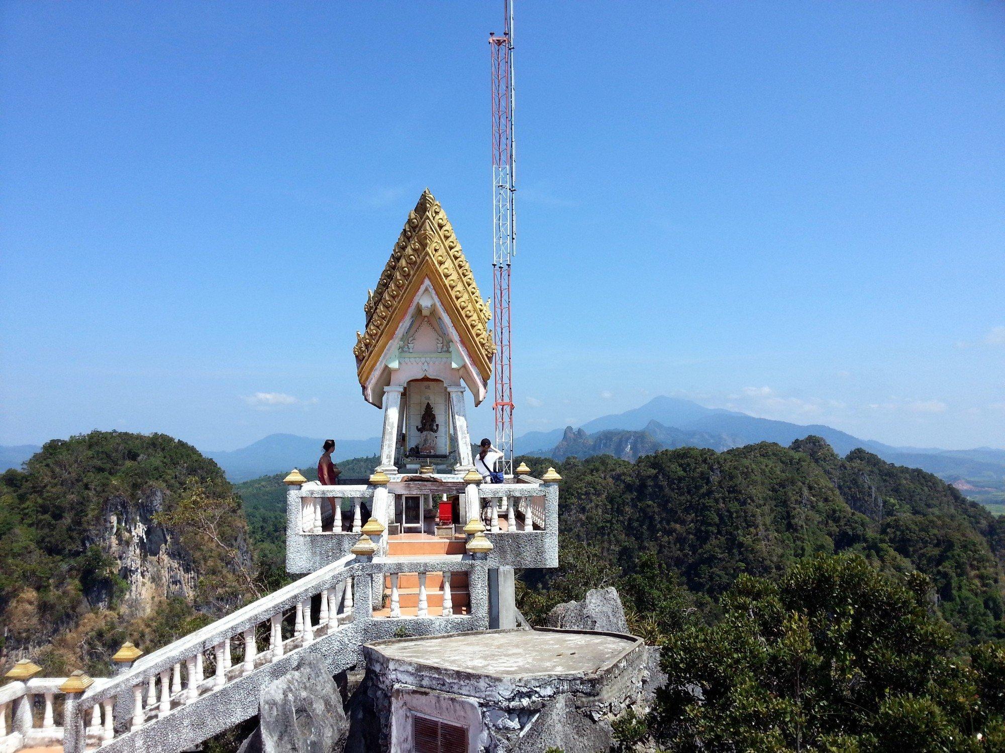 Shrine at Wat Tham Suea
