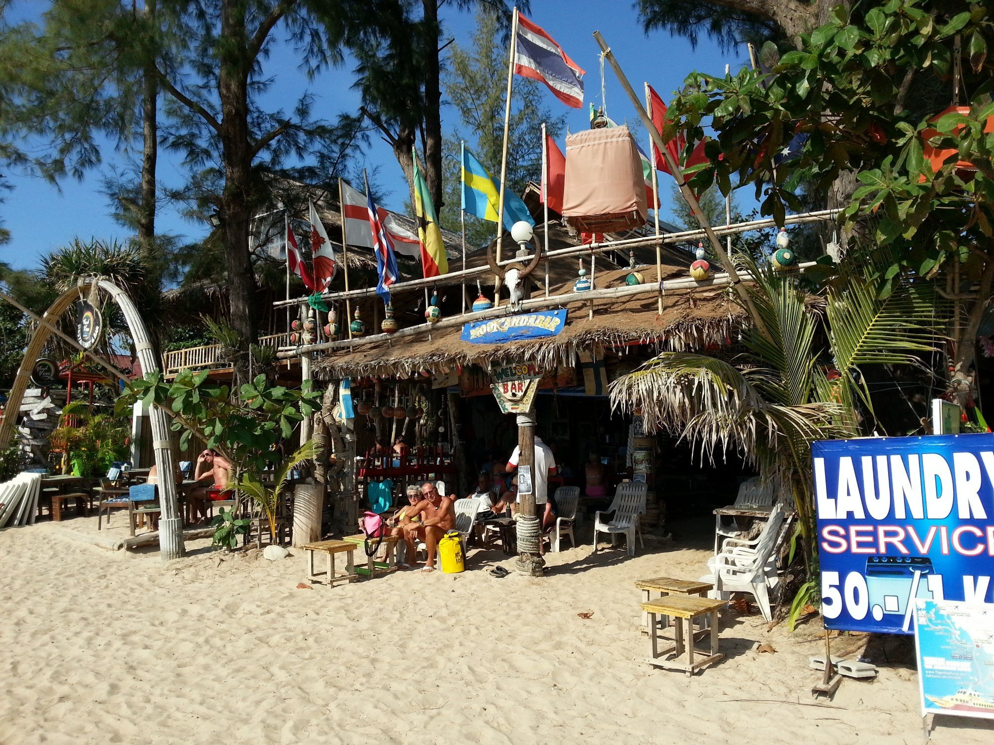 Bar on Klong Dao Beach