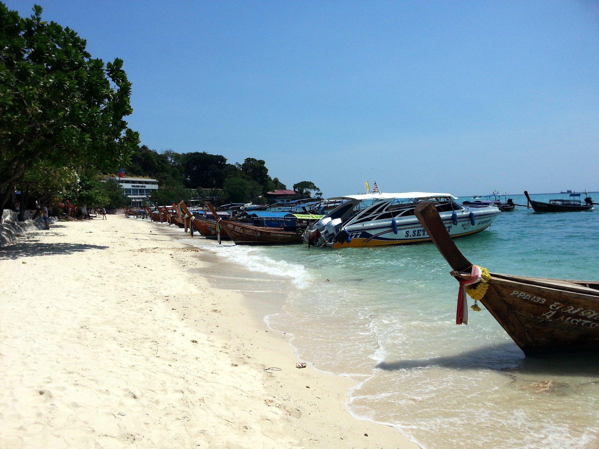Beach in Tonsai Bay