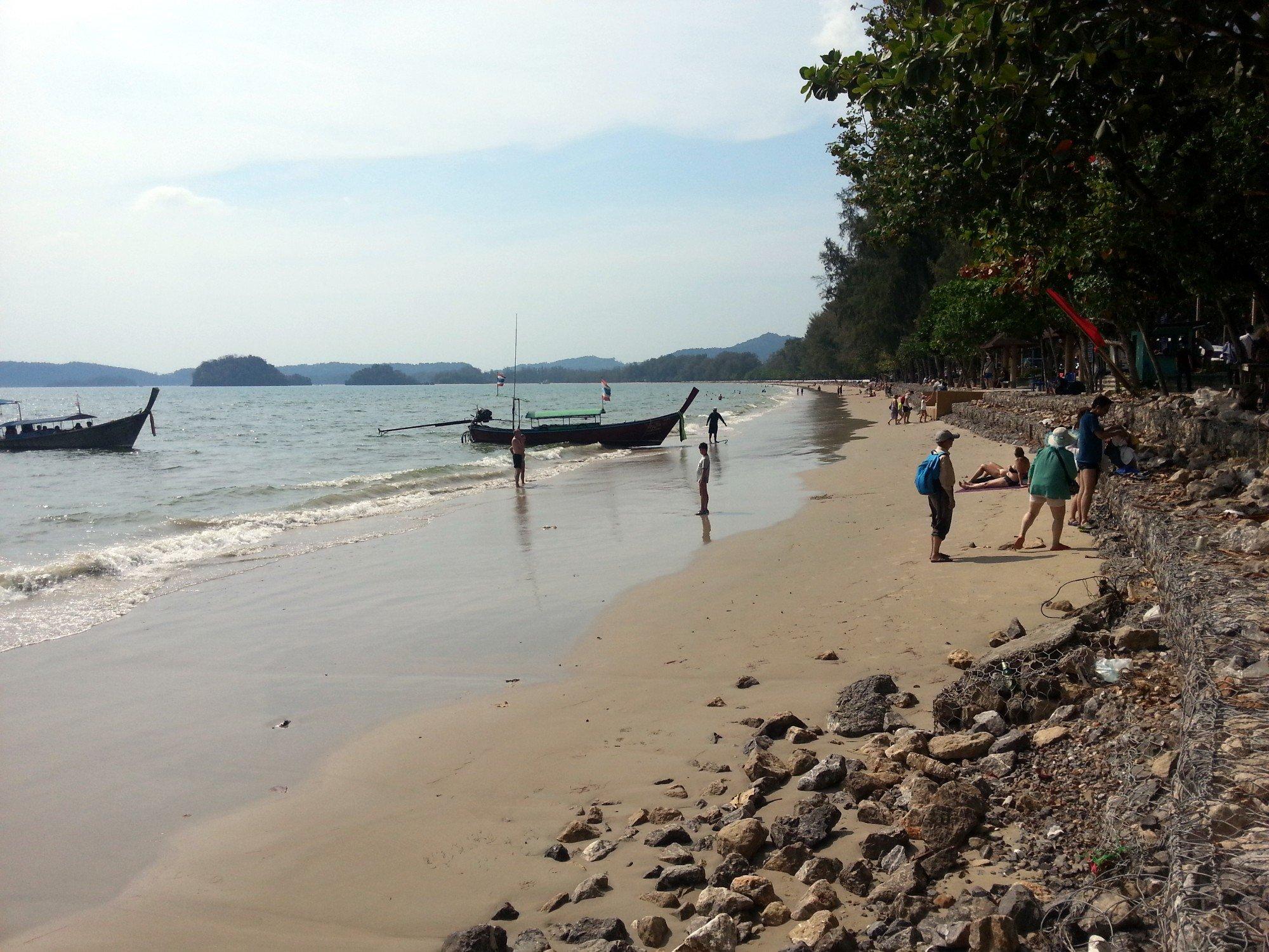 Eastern end of Noppharat Thara Beach