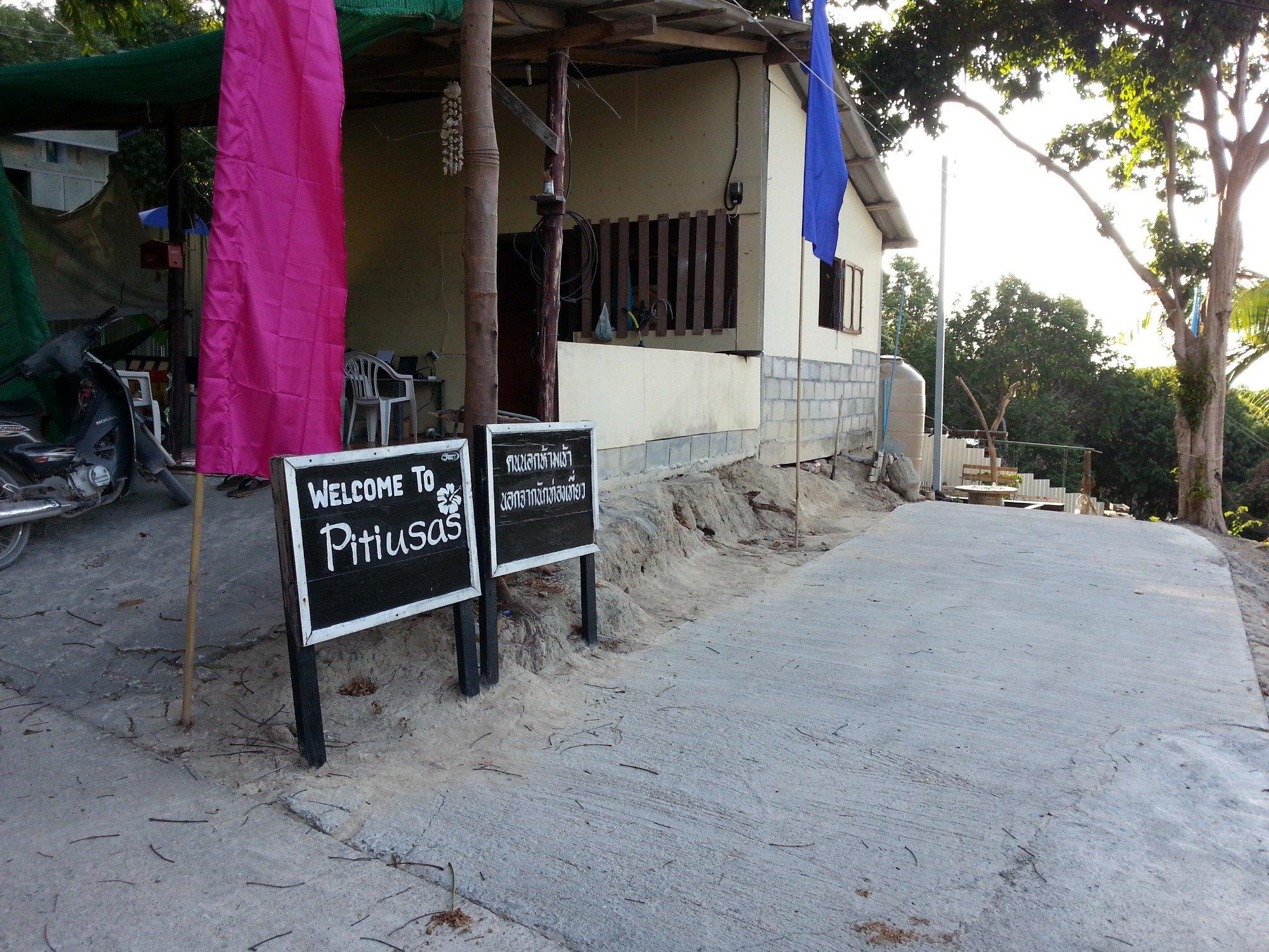 Entrance to Pitiusas Beach