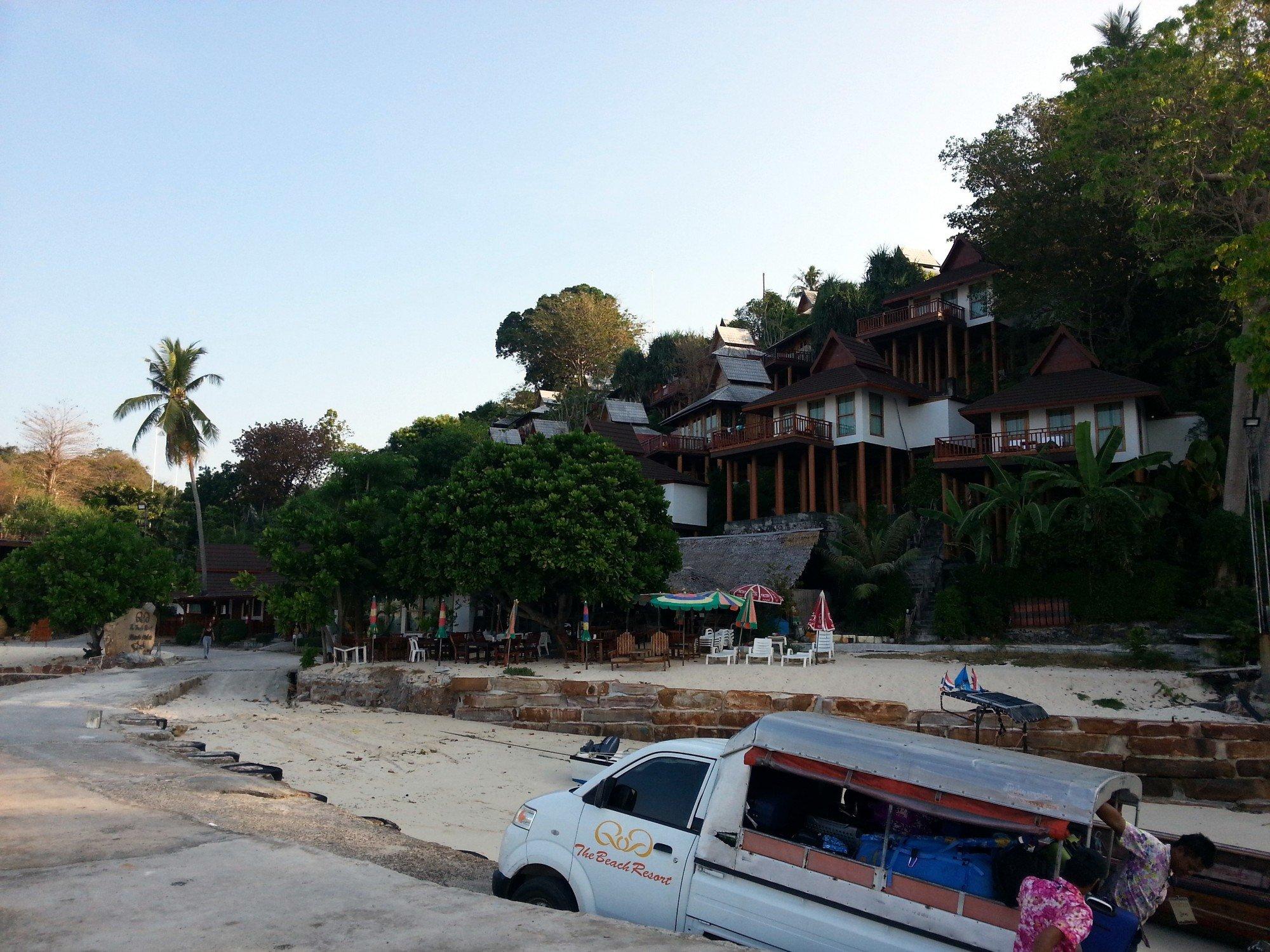 Phi Phi The Beach Resort on Long Beach