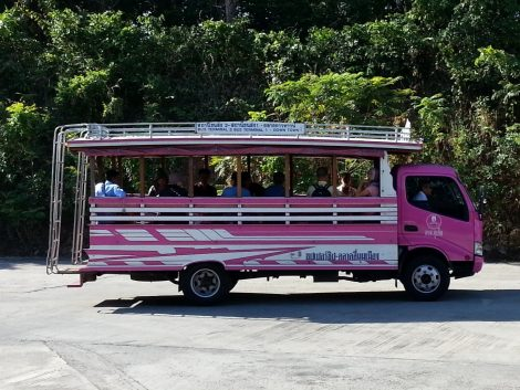 Shared taxi from Phuket Bus Terminal 2 to Phuket Bus Terminal 1