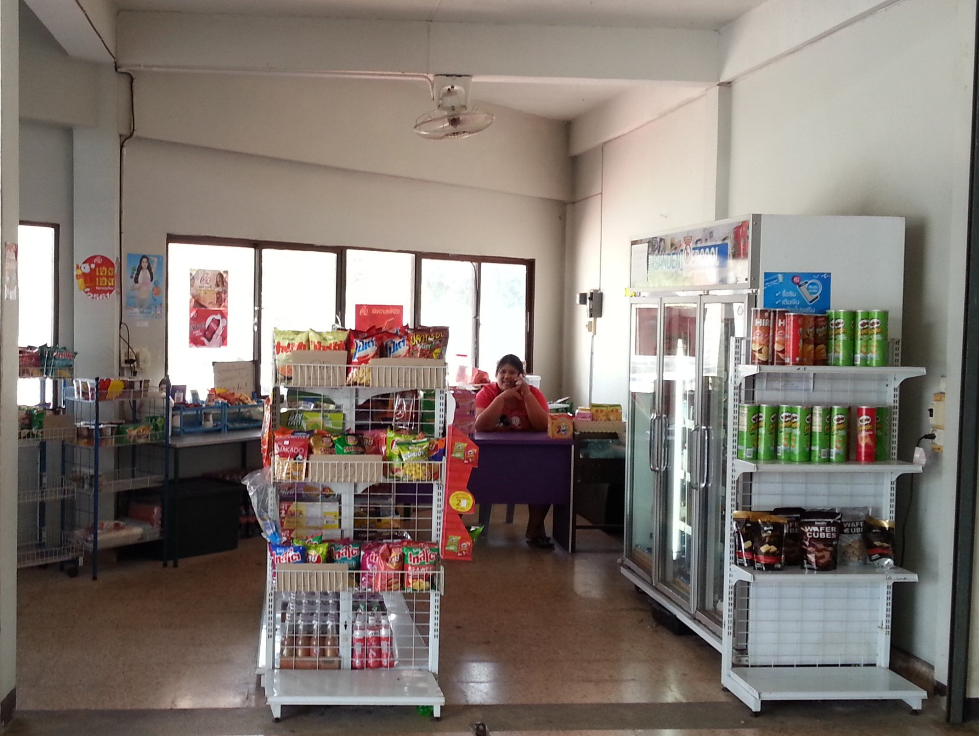 Shop at Satun Bus Station