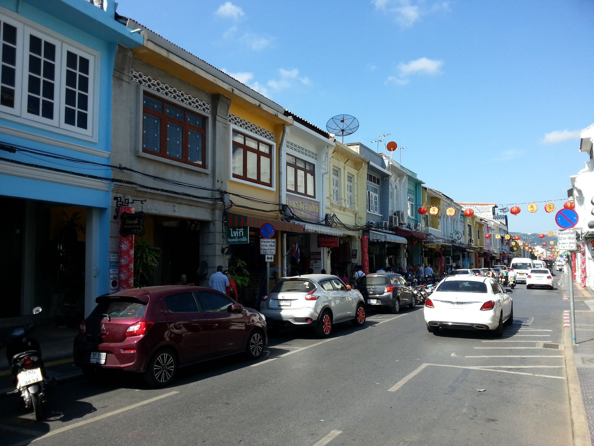 Thalang Road in Phuket Town