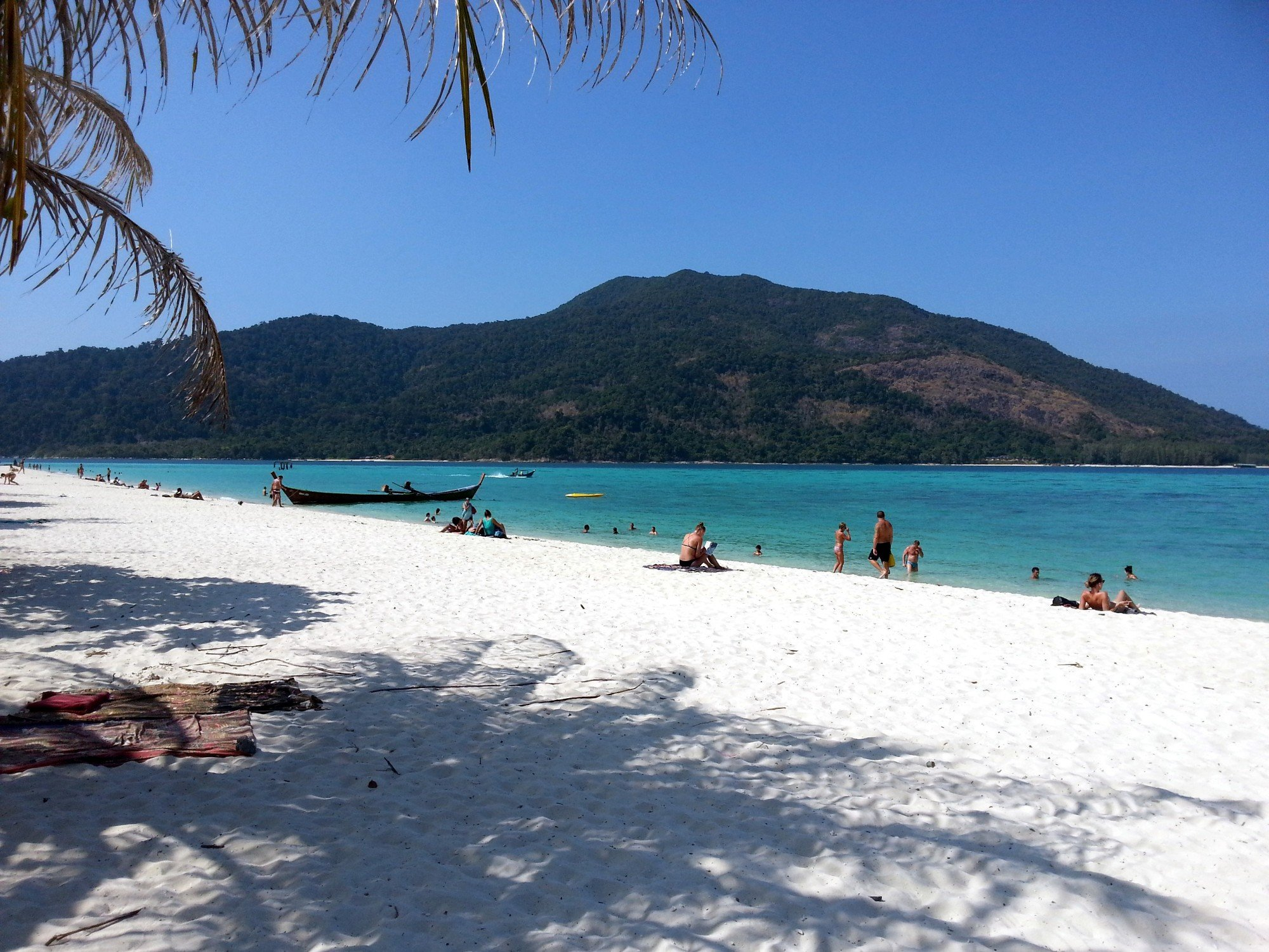 View of Koh Adang from Bulow Beach