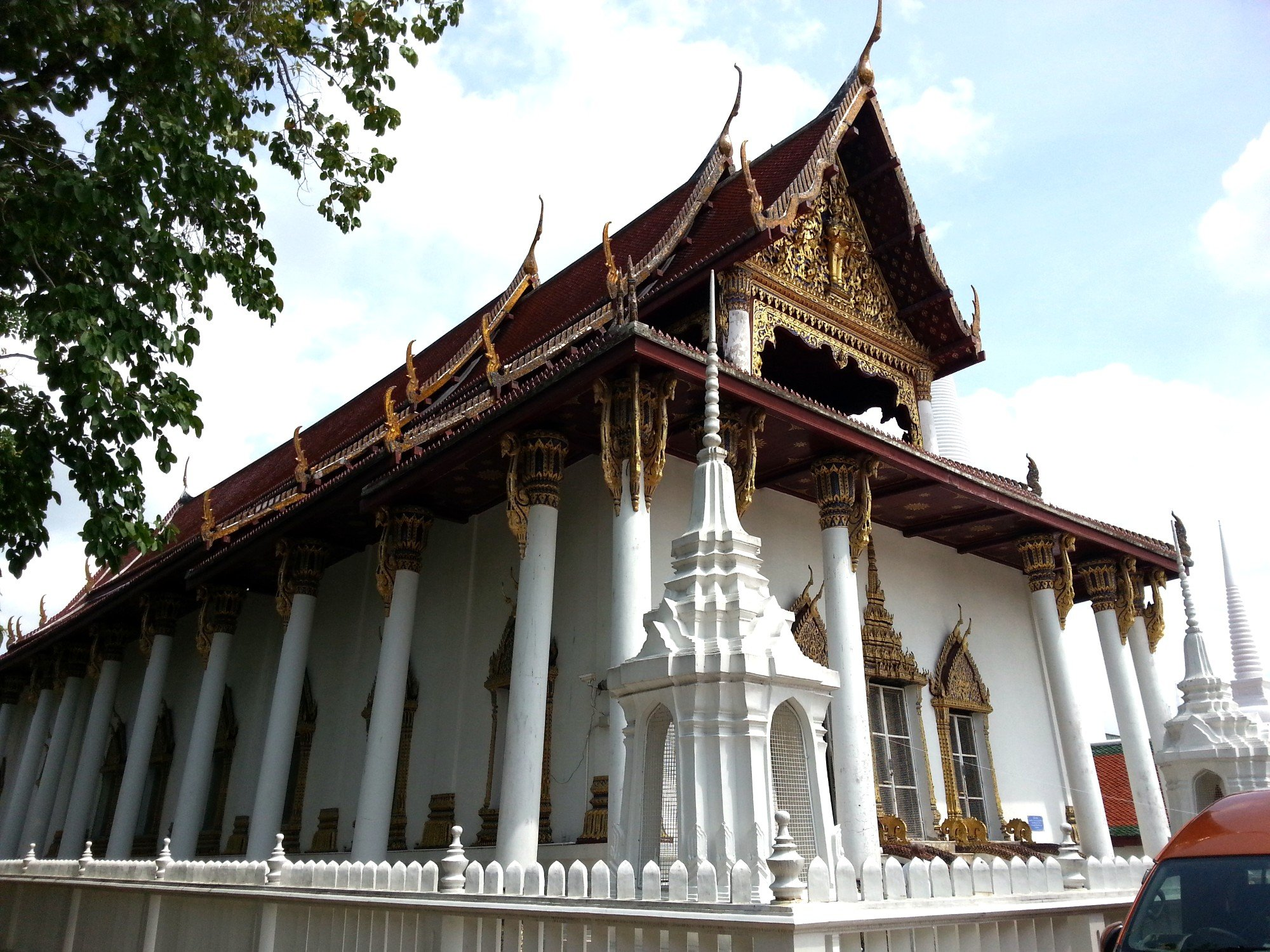 Ordination Hall at Wat Phra Mahathat
