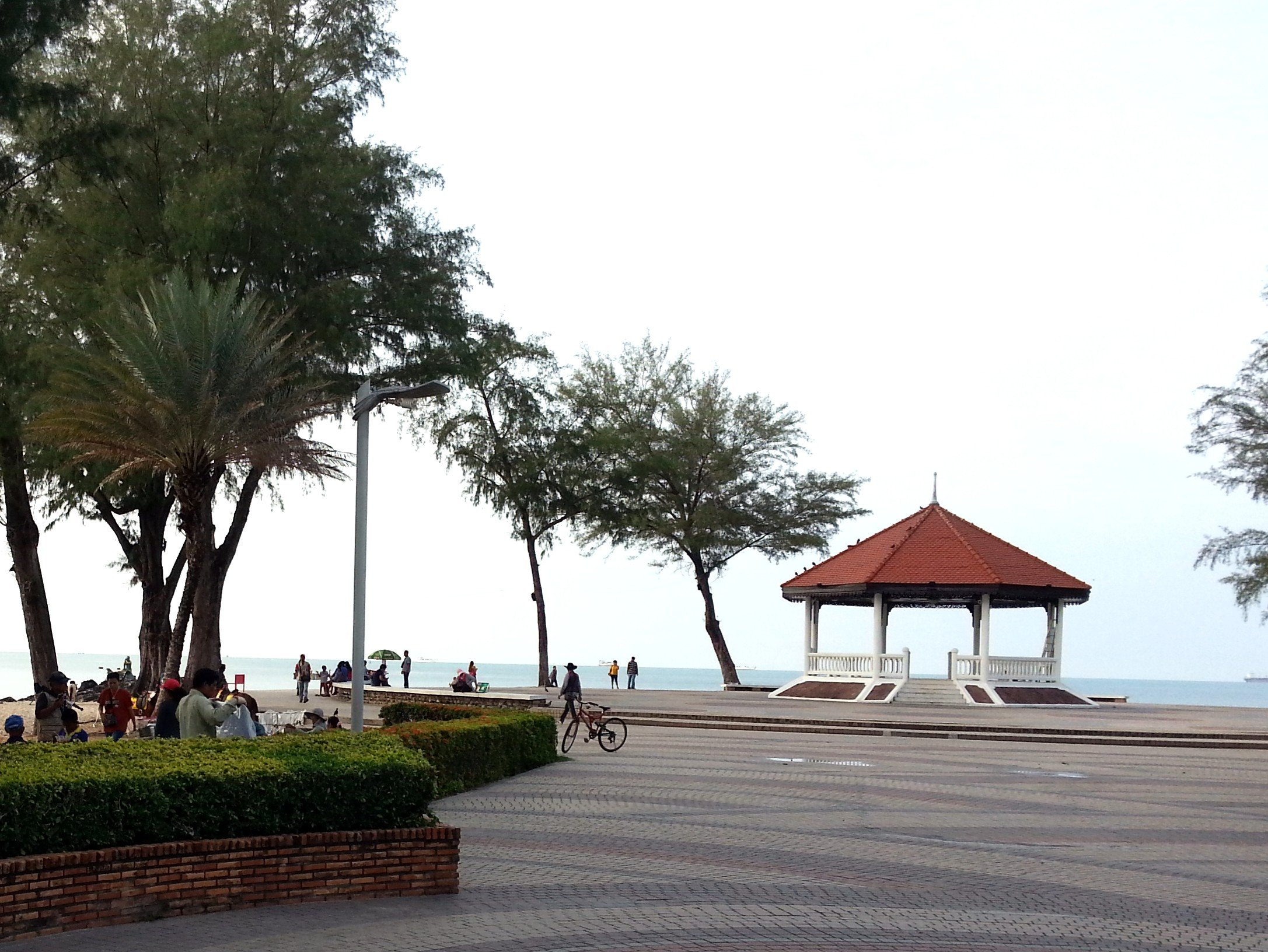Pavilion on Samila Beach
